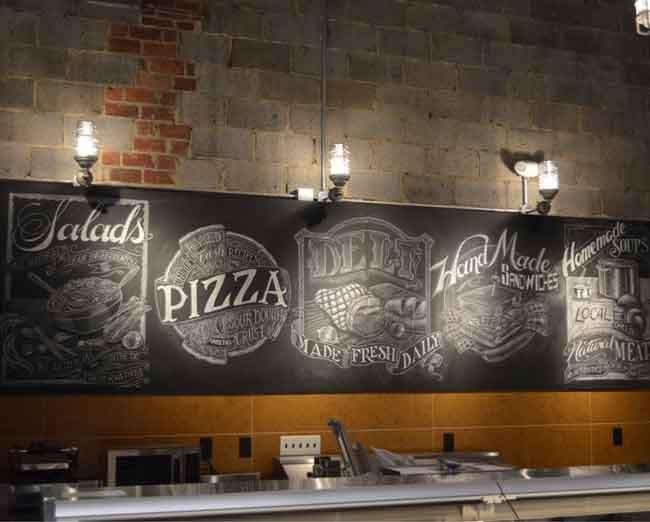 Ресторан Chalkboard, Йоханнесбург