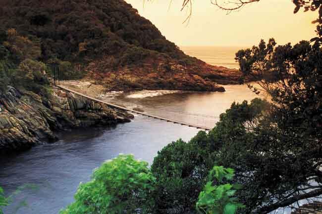 Национальный Парк Гарден-Рут, ЮАР
