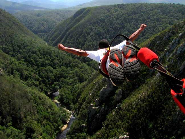 Банджи-прыжки и безумные качели ЮАР