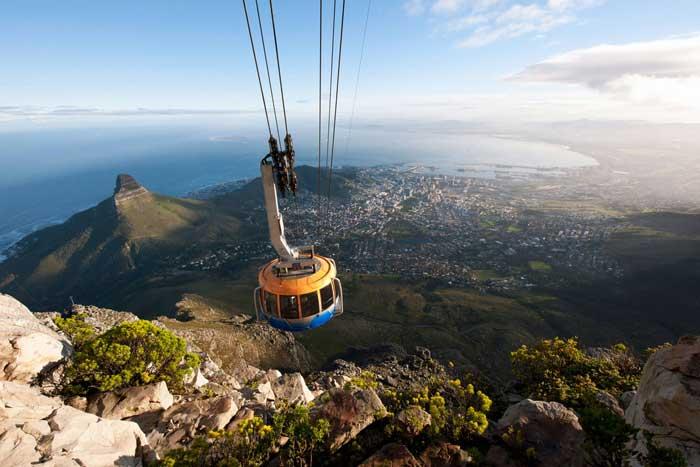 Поход на Столовую гору, Кейптаун, ЮАР